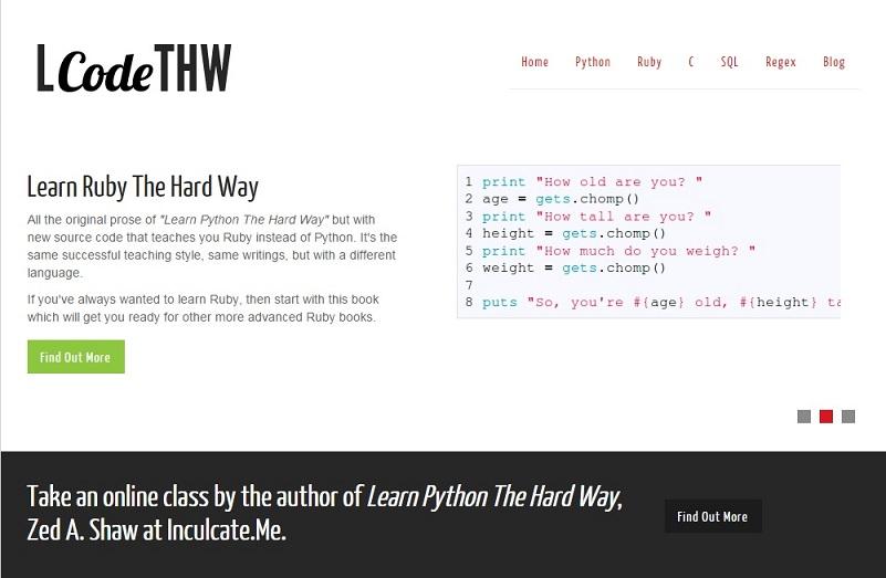 learncodethehardway