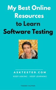 best online resource to learn software testing
