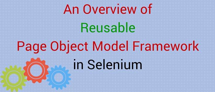 Page Object Model Framework